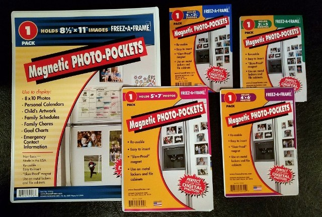 Magnetic Photo-Pockets